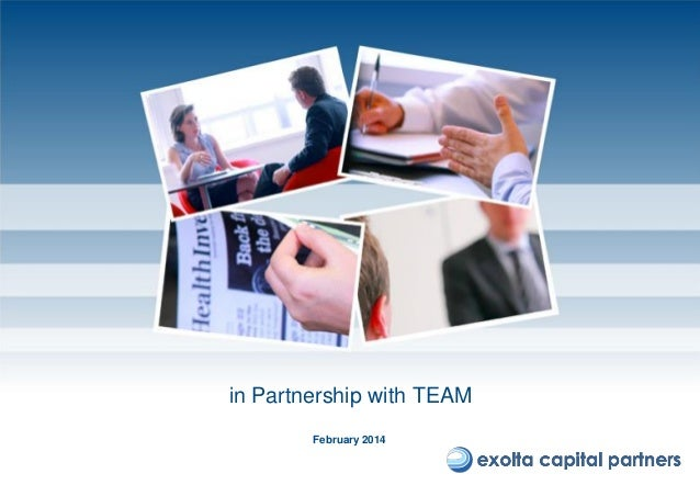in Partnership with TEAM February 2014