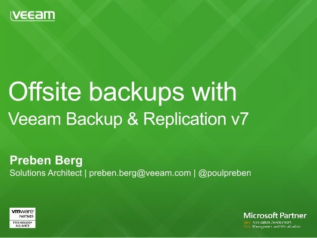 What does Veeam do? Who are our customers? What makes us special?