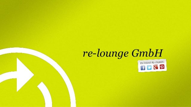re-lounge GmbH