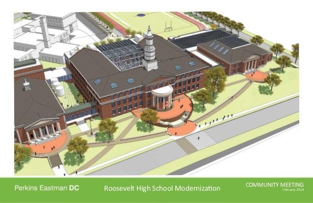 Roosevelt High School Community Meeting (Feb. 26, 2014)