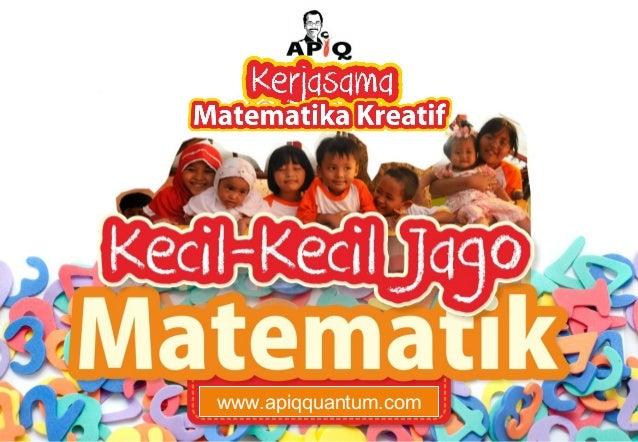 APIQ penawaran kerja sama matematika