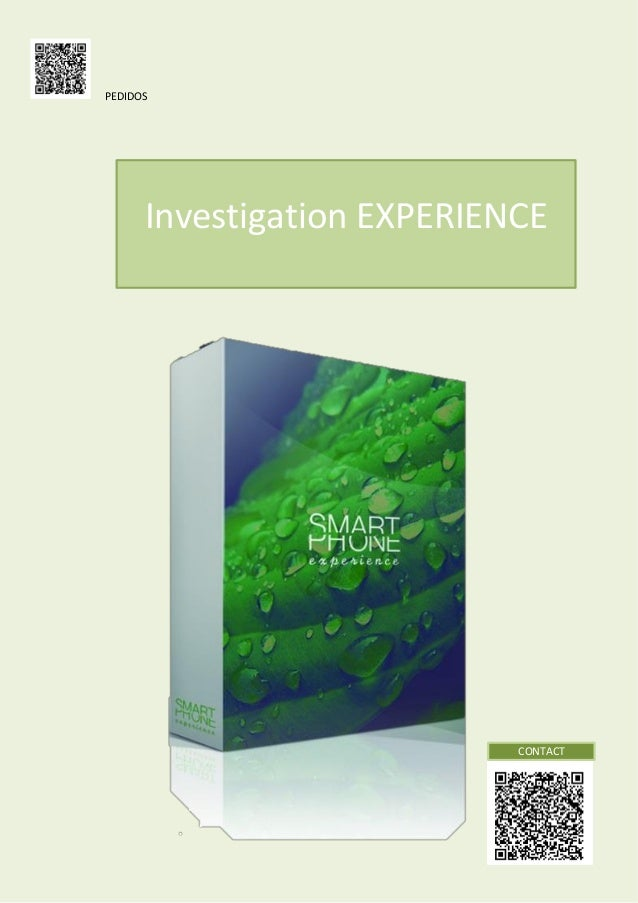 PEDIDOS  Investigation EXPERIENCE  CONTACT