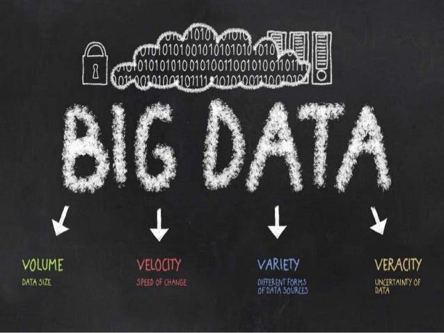To get a better understanding of what Big Data is, it is often described using Five Vs:  Variety  Volume  Velocity  Veraci...