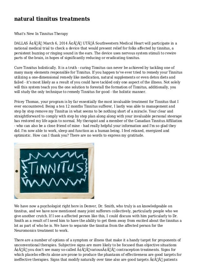 how to get used to tinnitus