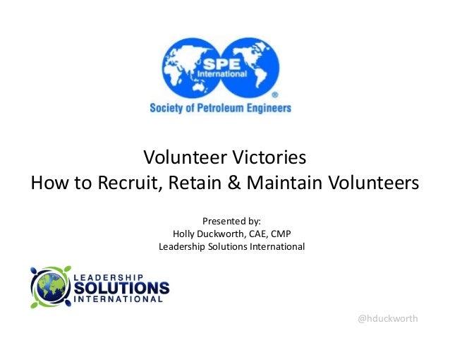 Society of Petroleum Engineers - volunteer victories