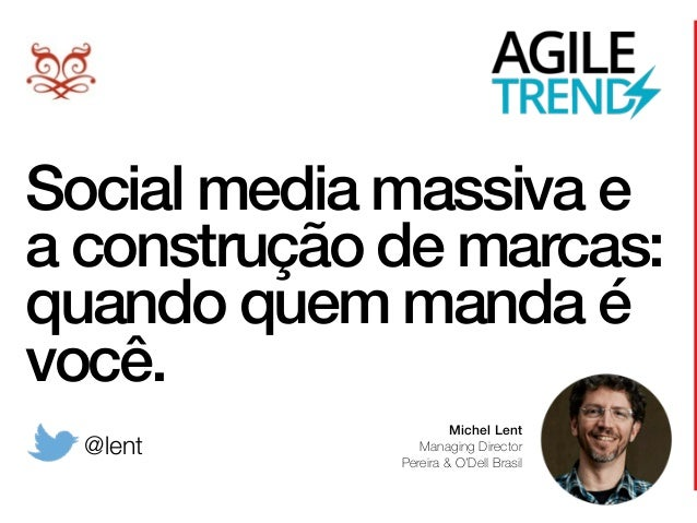 Social media massiva e a construção de marcas