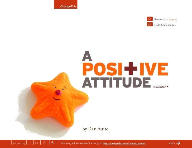 14.05.Positive Attitude