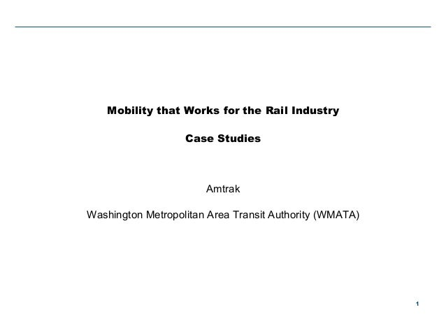 WMATA and Amtrak Discuss Maximo Mobile Success