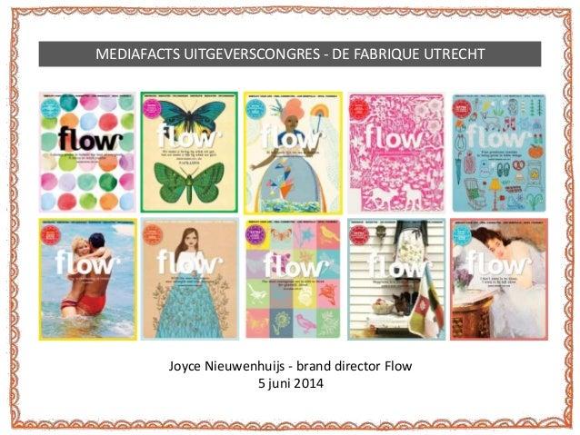 Flow Magazine, Joyce Nieuwenhuijs - Mediafacts Uitgeverscongres