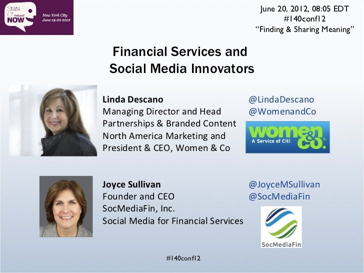 """June 20, 2012, 08:05 EDT                                           #140conf12                                   """"Finding &..."""