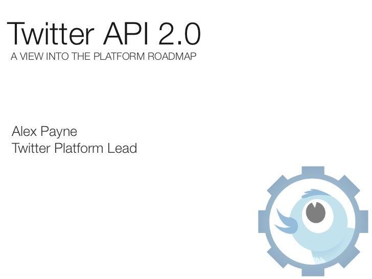 Twitter API 2.0