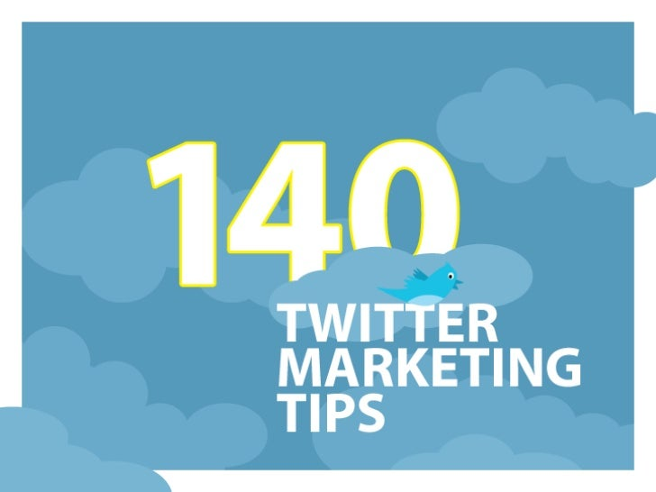 140 Twitter Tips