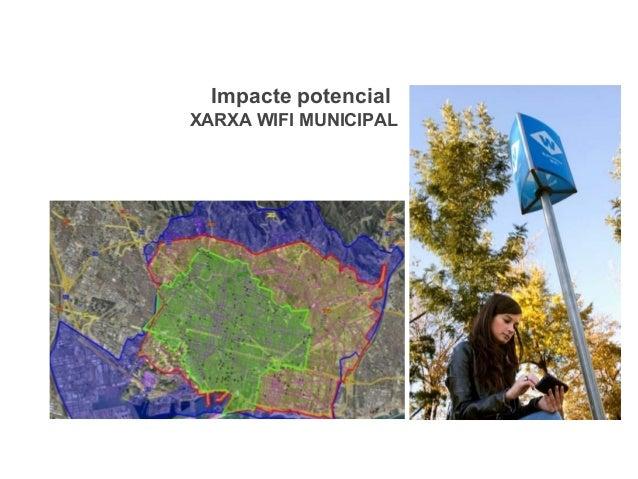 Impacte potencial XARXA WIFI MUNICIPAL