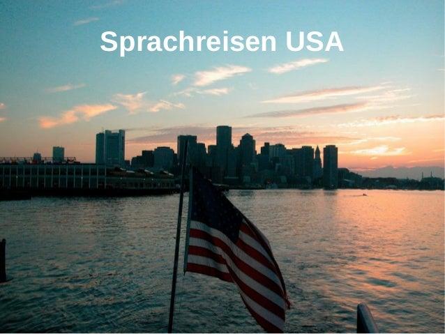 Sprachreisen USA