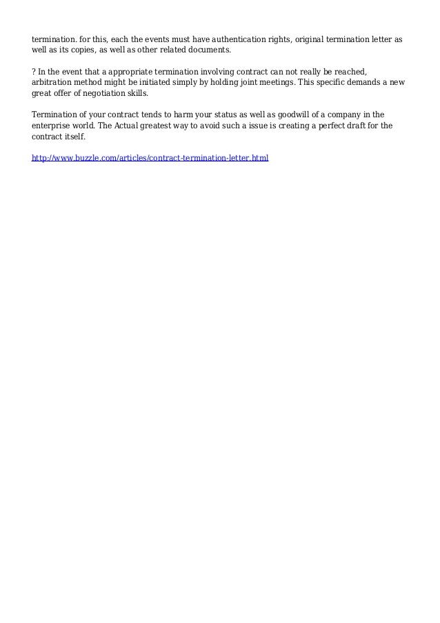 cancellation service letter vendor contract termination letter vendor template sample
