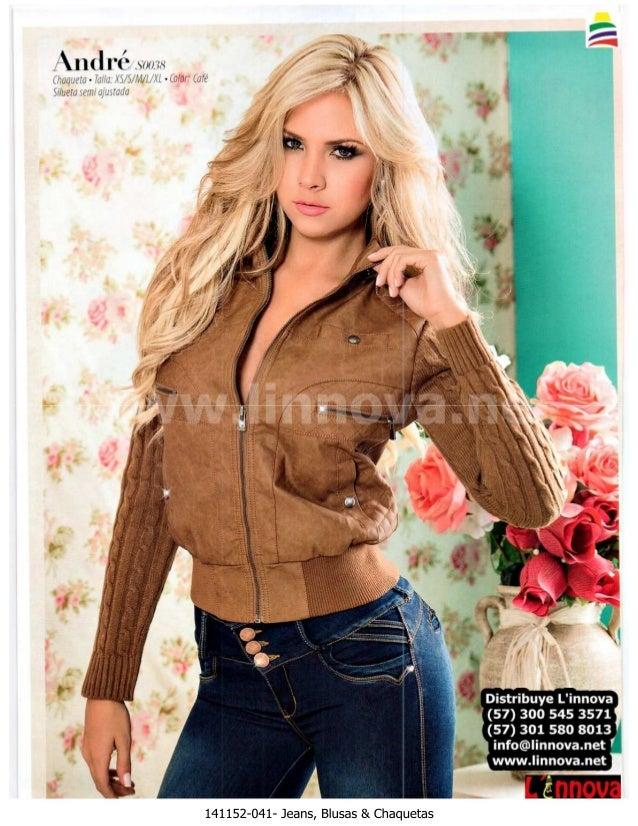 141152 b   jeans, blusas & chaquetas
