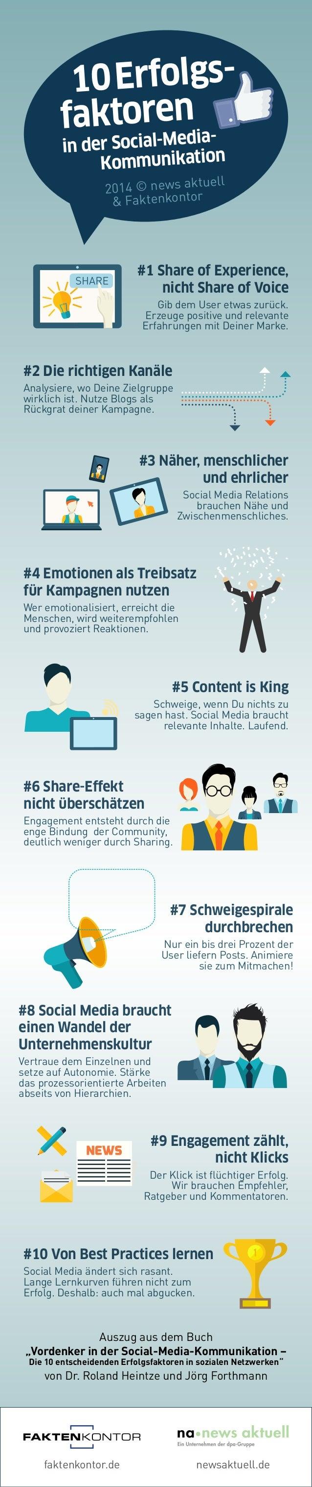 """faktenkontor.de newsaktuell.de Auszug aus dem Buch """"Vordenker in der Social-Media-Kommunikation – Die 10 entscheidenden Er..."""