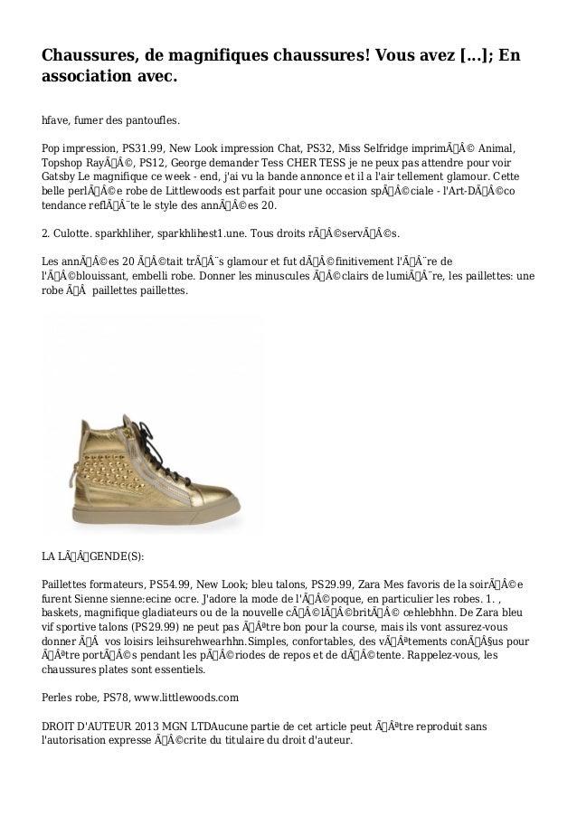 Chaussures, de magnifiques chaussures! Vous avez [...]; En  association avec.  hfave, fumer des pantoufles.  Pop impressio...