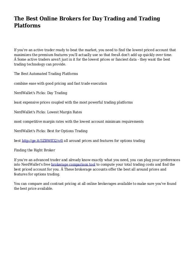 Nerdwallet Best Online Brokers