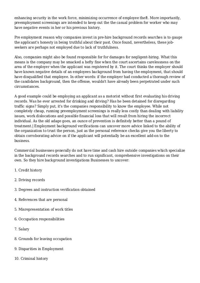 Criminal Record Check, Fast Background Checks: Employee ... | 638 x 903 jpeg 158kB