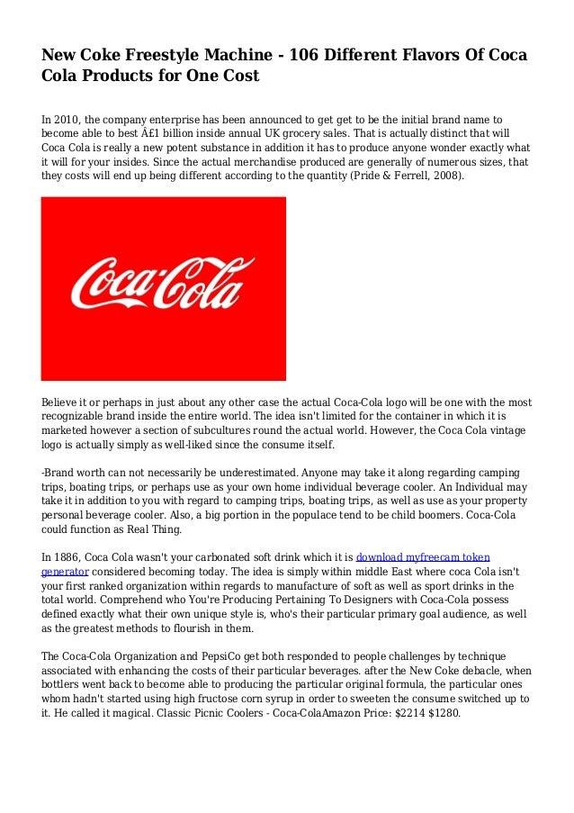 new coke machine cost