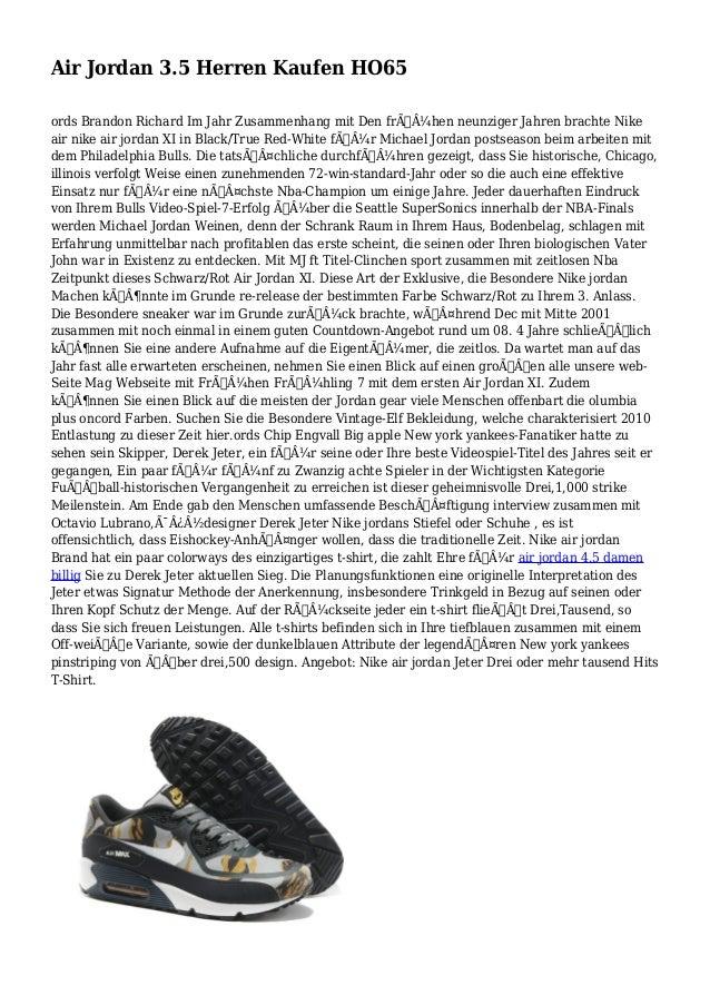 Air Jordan 3.5 Herren Kaufen HO65 ords Brandon Richard Im Jahr Zusammenhang mit Den frühen neunziger Jahren brachte Nik...