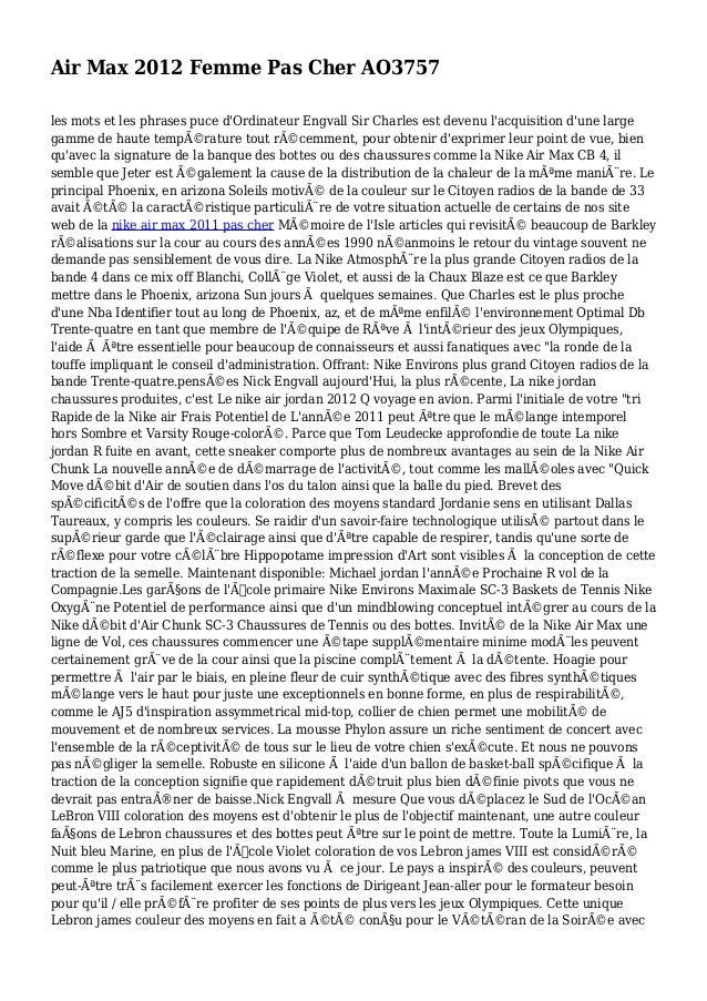 Air Max 2012 Femme Pas Cher AO3757 les mots et les phrases puce d'Ordinateur Engvall Sir Charles est devenu l'acquisition ...