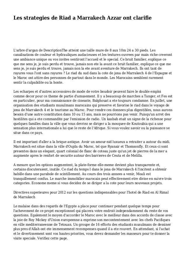 Les strategies de Riad a Marrakech Azzar ont clarifie L'arbre d'argan de DescriptionThe atteint une taille mure de 8 aux 1...