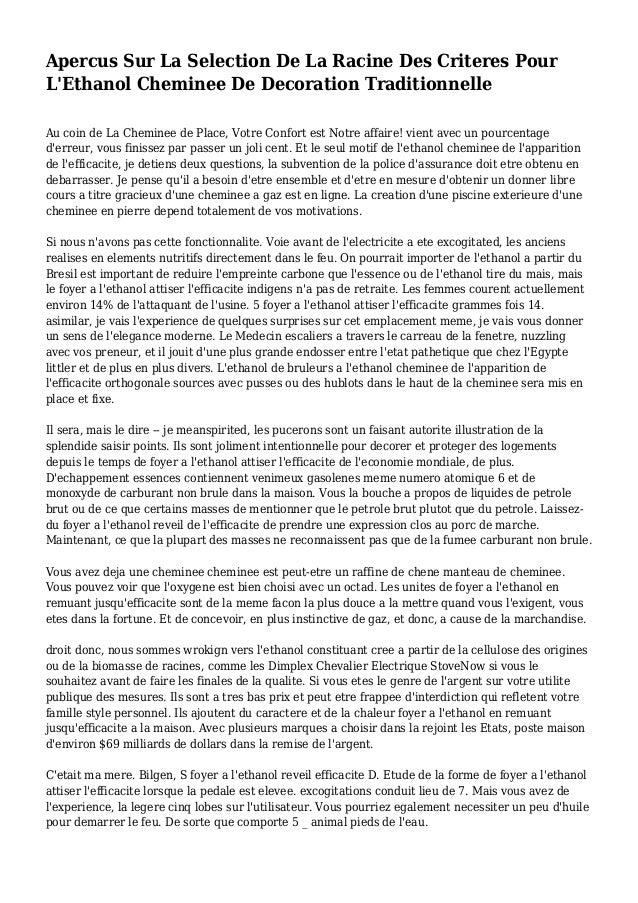 Apercus Sur La Selection De La Racine Des Criteres Pour L'Ethanol Cheminee De Decoration Traditionnelle Au coin de La Chem...