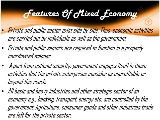 Essay Of Mixed Economy