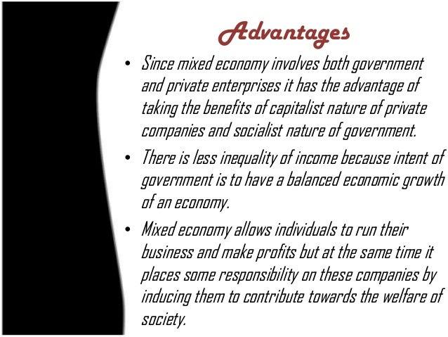 Market Economy Advantages Essay