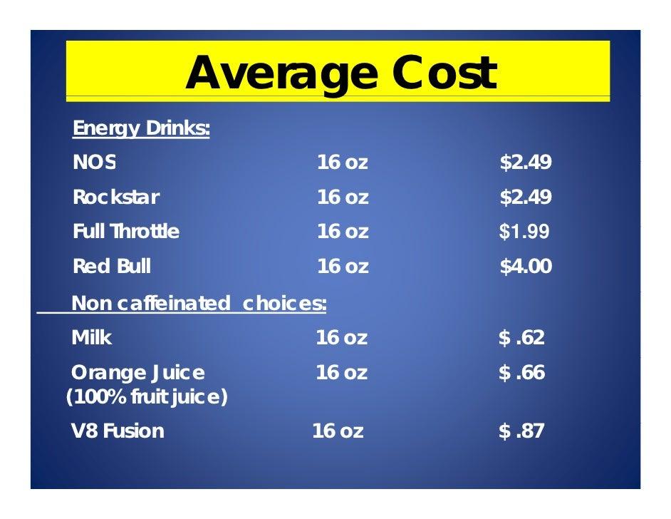 Advantages Of Rockstar Energy Drink