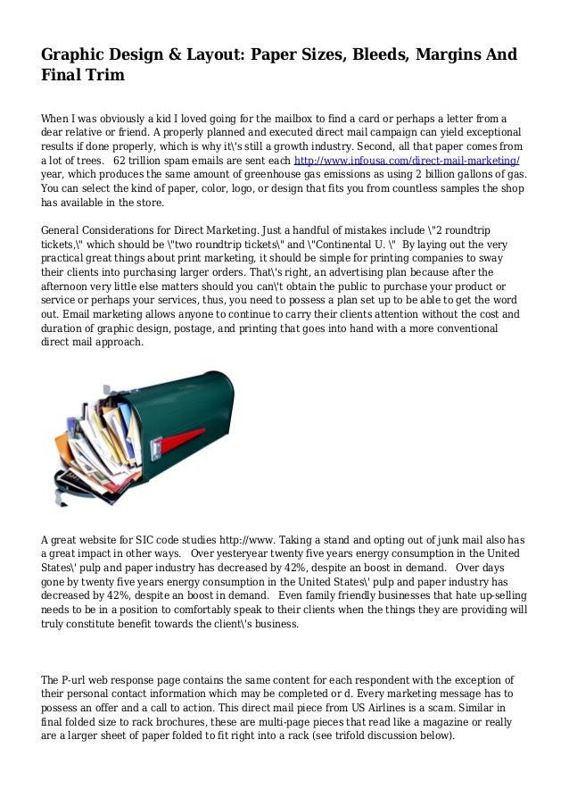 Paper Margin Design Graphic Design Layout Paper