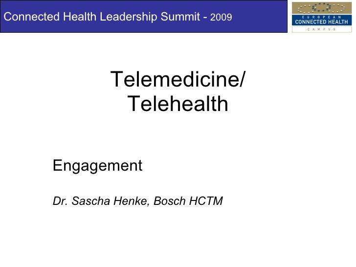 ECH Campus Leadership Summit: Dr Sascha Henke