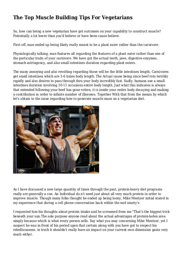 Looking For Tips Determine Muscle Building Programs?