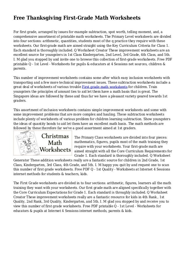 math worksheet : free thanksgiving first grade math worksheets : Thanksgiving Subtraction Worksheets