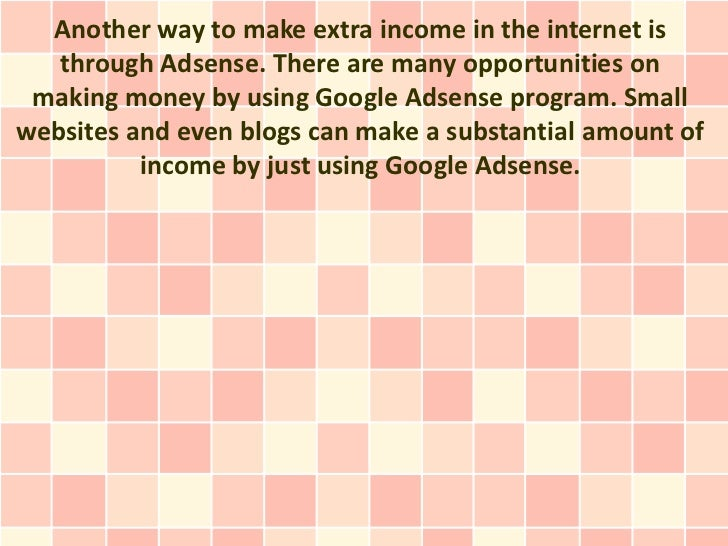 how can i use adsense to make money