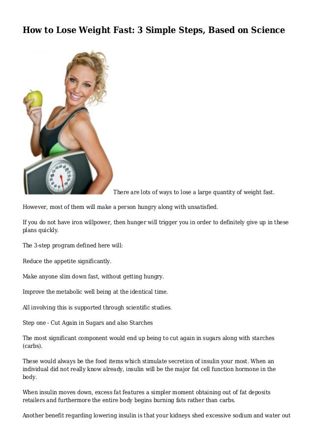 Best Plan To Lose Weight