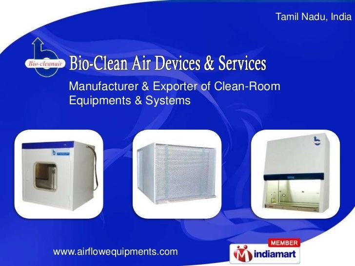 Bio-Clean Air Devices & Services Tamil Nadu India