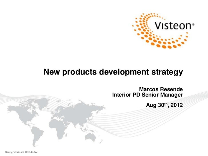 New products development strategy                                                               Marcos Resende            ...