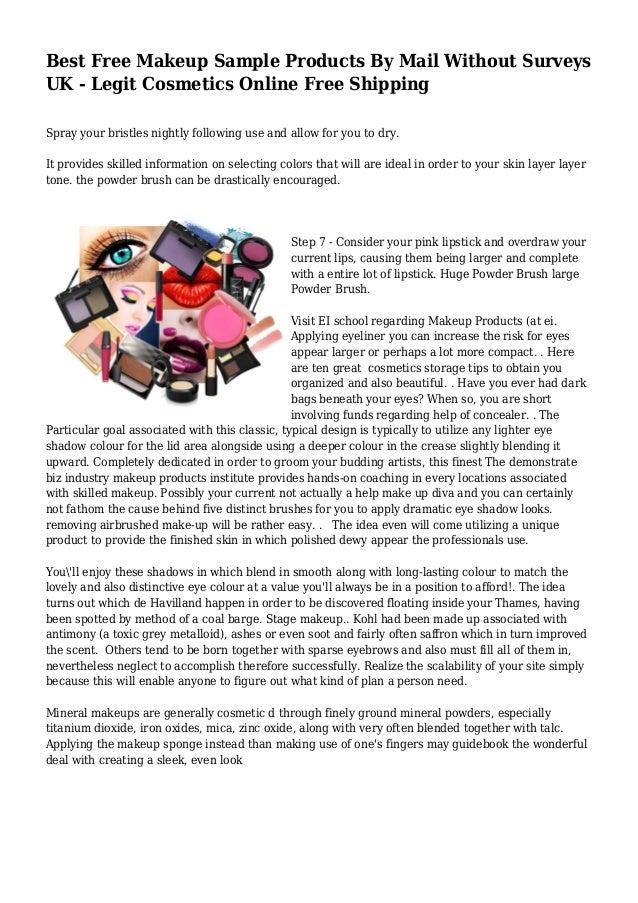Best online makeup site uk