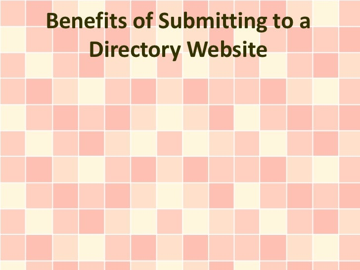 Benefits of Submitting to a Directory Website