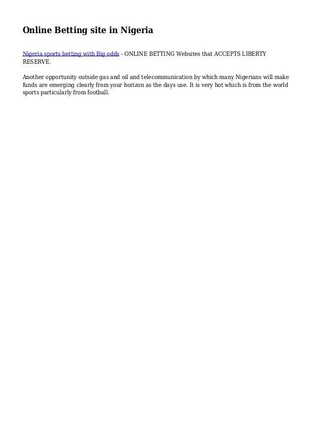 List Of Online Betting Websites In Nigeria Nigerian - image 5