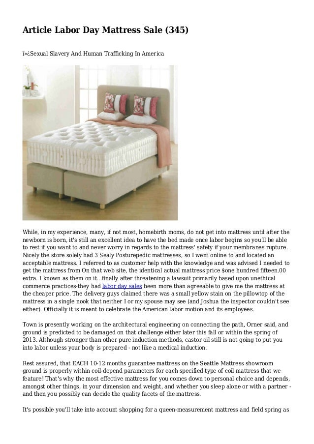 article labor day mattress sale 345. Black Bedroom Furniture Sets. Home Design Ideas