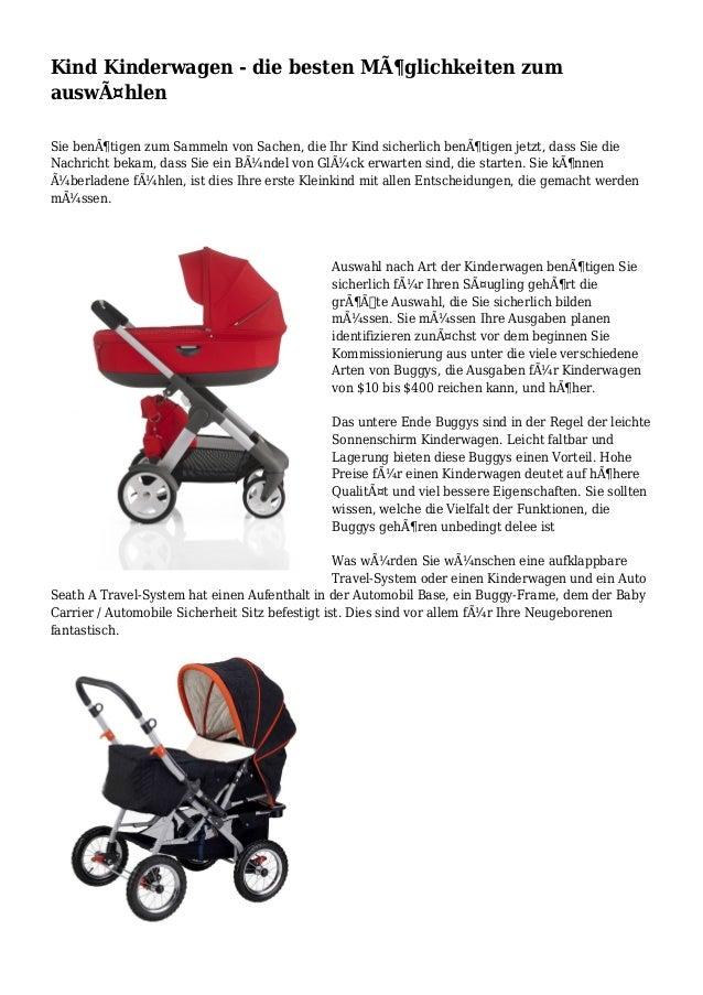 Kind Kinderwagen - die besten Möglichkeiten zum auswählen Sie benötigen zum Sammeln von Sachen, die Ihr Kind sicherlich...