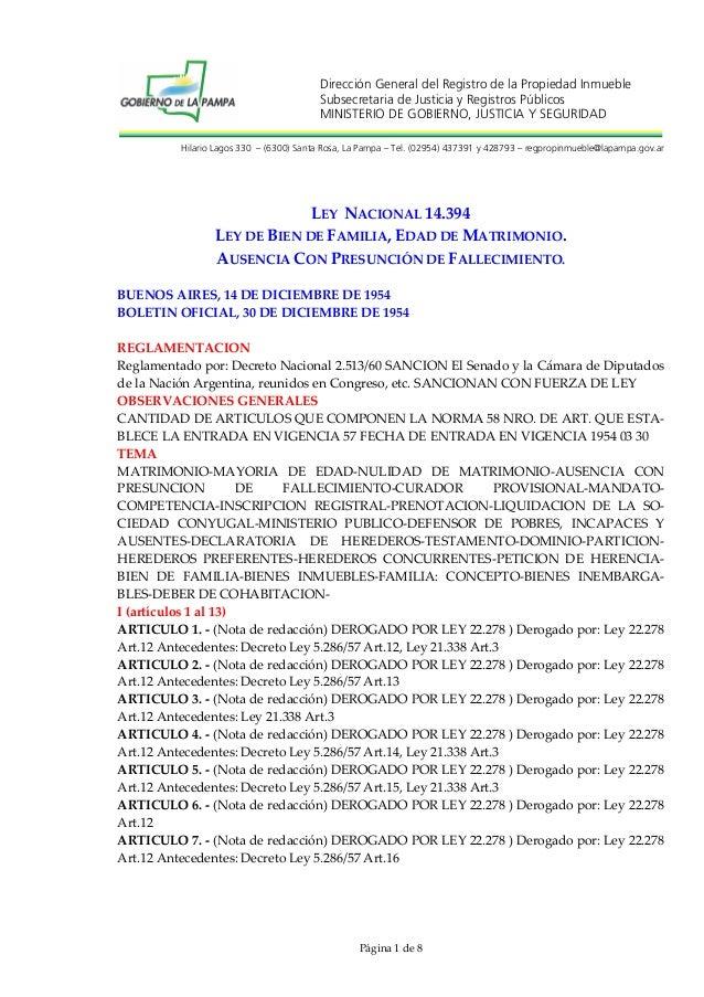 Dirección General del Registro de la Propiedad Inmueble Subsecretaria de Justicia y Registros Públicos MINISTERIO DE GOBIE...