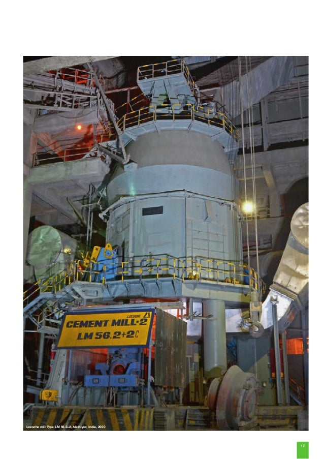 Blast Furnace Slag Cement : Loesche mills for cement and granulated blast furnace slag