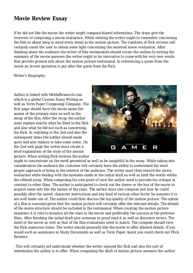 wall e movie review essay
