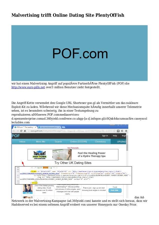 Malvertising trifft Online Dating Site PlentyOfFish wir hat einen Malvertising Angriff auf populäre Partnerbörse PlentyO...