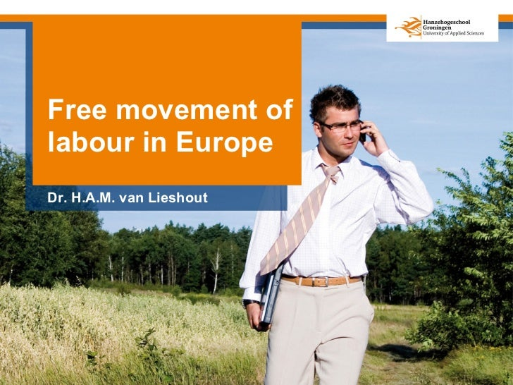 Free movement of labour in Europe